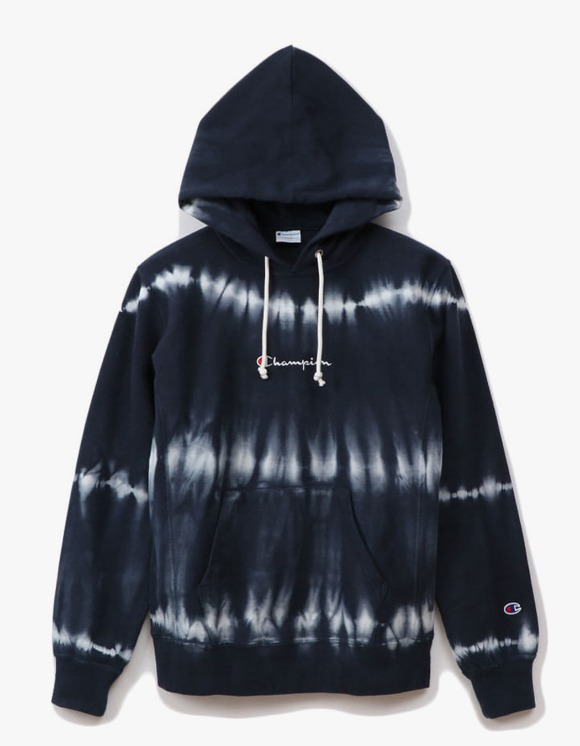 Champion 10oz Tie Dye Pullover - Navy | HEIGHTS. | 하이츠 온라인 스토어