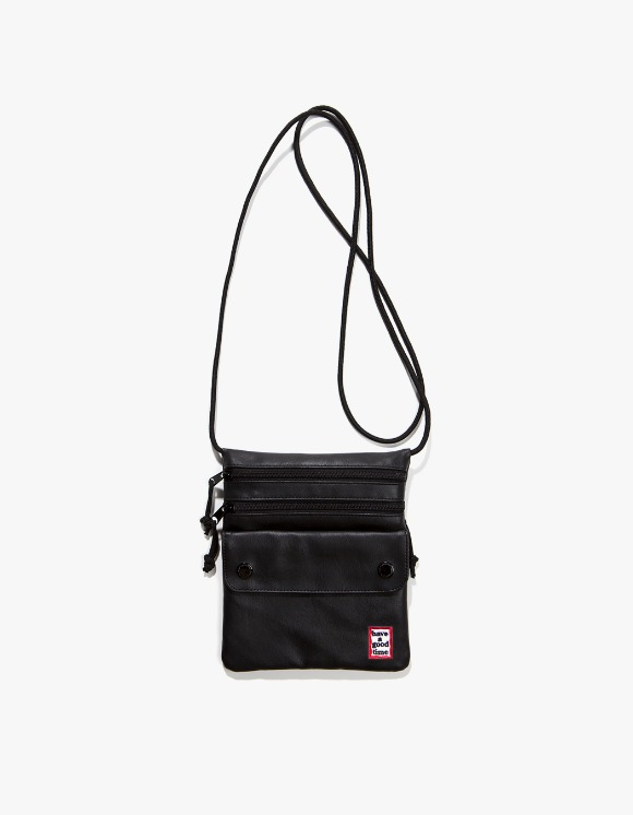 have a good time Frame Faux Leather Shoulder Bag - Black | HEIGHTS. | 하이츠 온라인 스토어