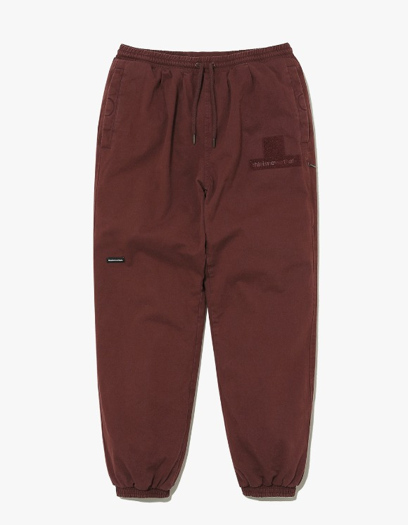 thisisneverthat Driver Pant - Burgundy | HEIGHTS. | 하이츠 온라인 스토어