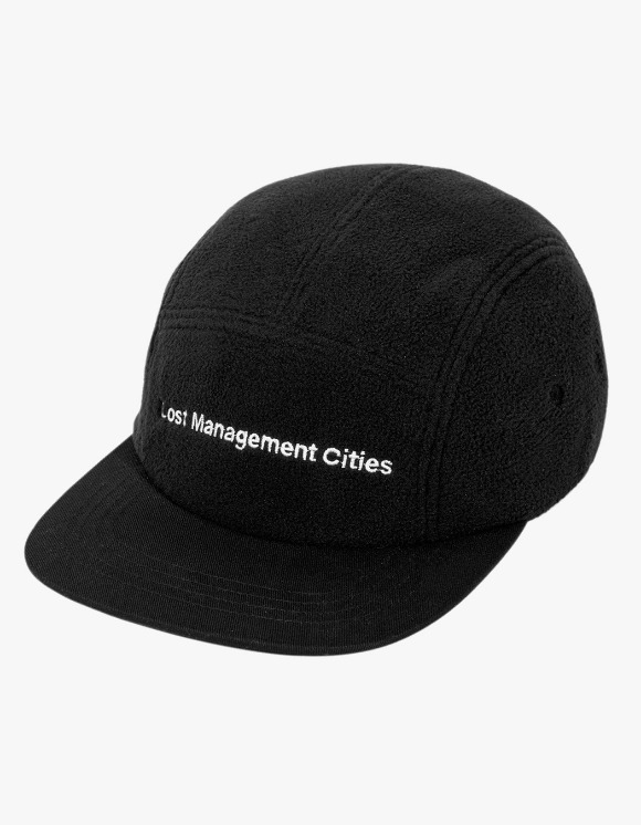 LMC LMC FN FLEECE CAMP CAP black | HEIGHTS. | 하이츠 온라인 스토어