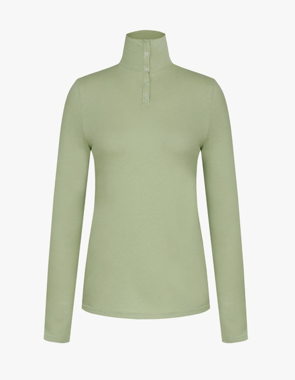 Margarin Fingers Snap Turtle Neck - Mint | HEIGHTS. | 하이츠 온라인 스토어