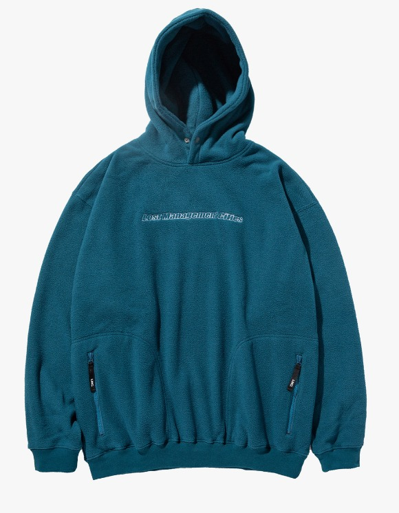 LMC LMC FLEECE OVERSIZED HOODIE dk teal | HEIGHTS. | 하이츠 온라인 스토어