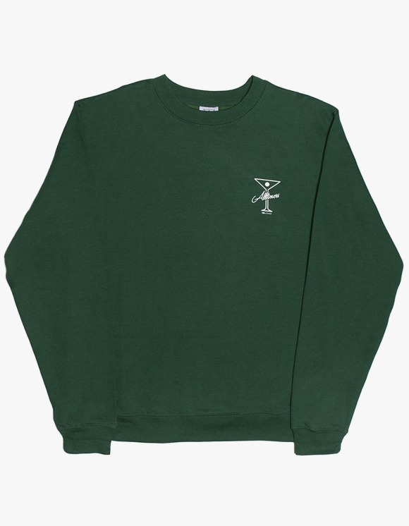 Alltimers Reverse Crewneck - Dark Green | HEIGHTS. | 하이츠 온라인 스토어