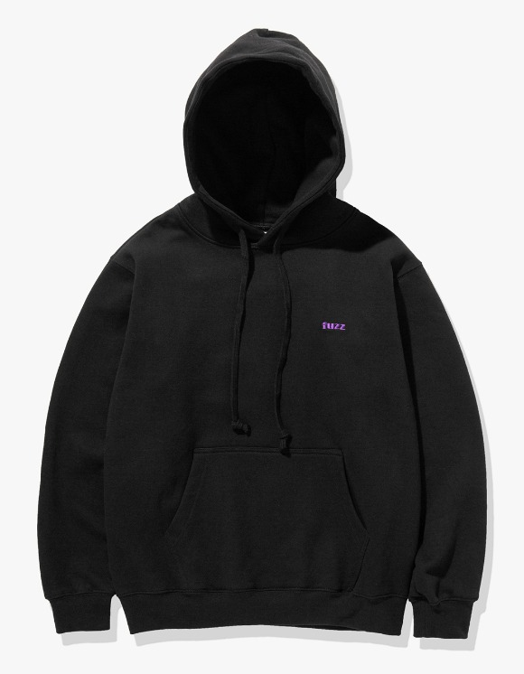 Fuzz FUZZ BASIC LOGO HOODIE black | HEIGHTS. | 하이츠 온라인 스토어