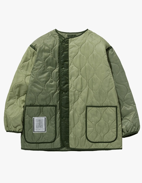 LMC LMC QUILTED LINING JACKET olive | HEIGHTS. | 하이츠 온라인 스토어