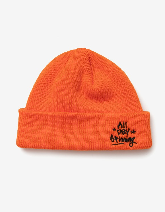 sounds good! All Day Spinning Beanie - Orange | HEIGHTS. | 하이츠 온라인 스토어