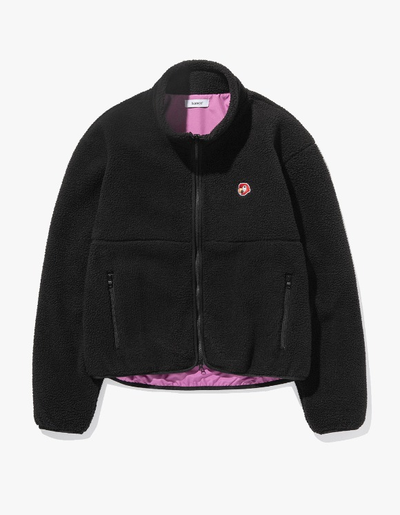 KANCO KANCO SHERPA JACKET black | HEIGHTS. | 하이츠 온라인 스토어