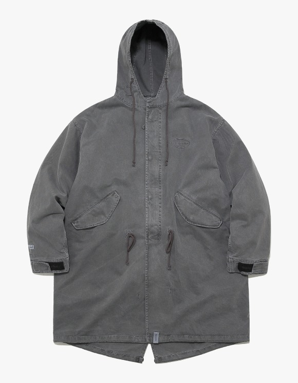 thisisneverthat Overdyed M51 Parka - Black | HEIGHTS. | 하이츠 온라인 스토어