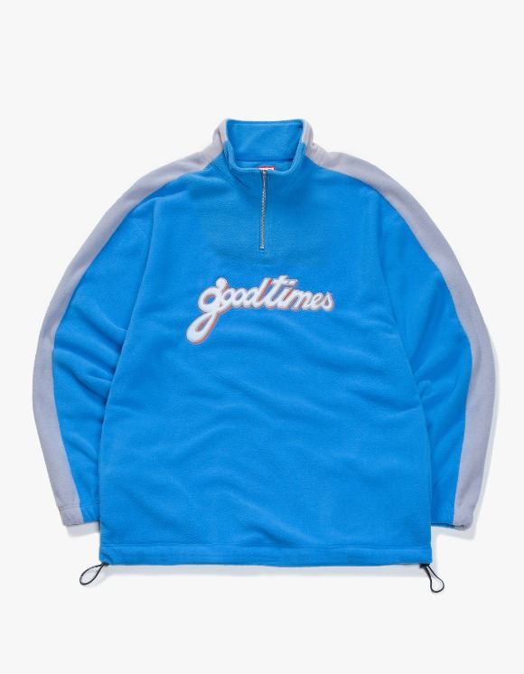 have a good time Good Time Half-Zip Fleece - Blue | HEIGHTS. | 하이츠 온라인 스토어