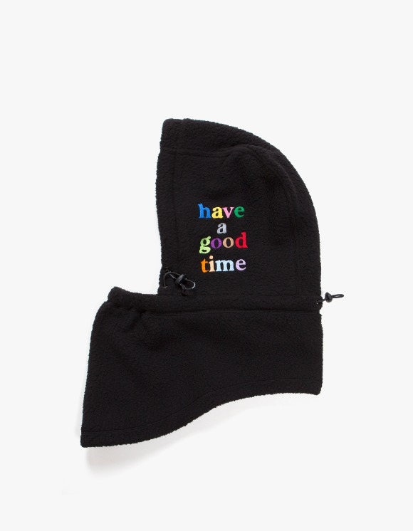 have a good time Fleece Full Face Mask - Black | HEIGHTS. | 하이츠 온라인 스토어