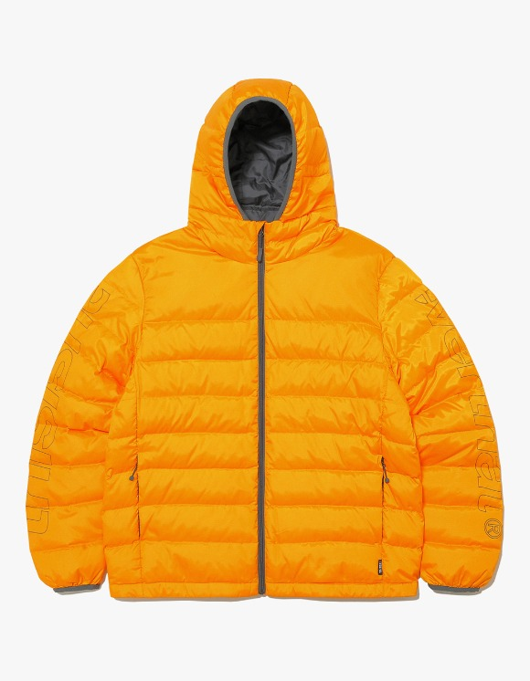 thisisneverthat HSP Hooded Down Jacket - Apricot | HEIGHTS. | 하이츠 온라인 스토어