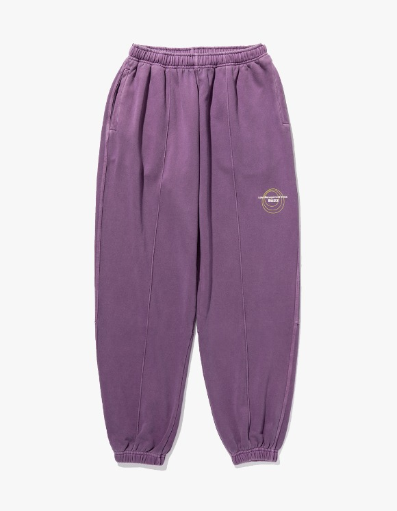 LMC LMC x FUZZ CIRCLE SWEAT PANTS Purple | HEIGHTS. | 하이츠 온라인 스토어