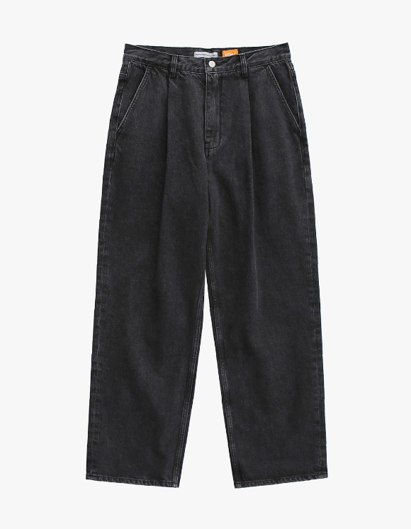 AYC 1 Tuck Wide Jeans Used Black | HEIGHTS. | 하이츠 온라인 스토어