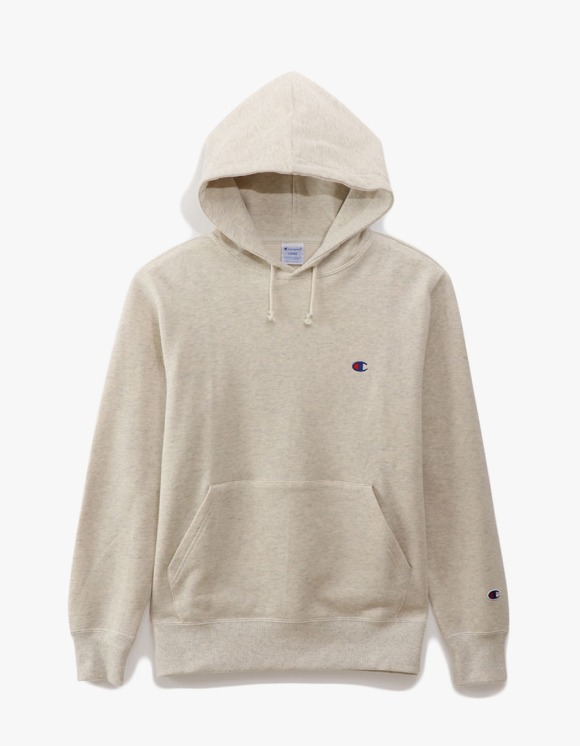 Champion Basic Pullover Hoodie - Oatmeal | HEIGHTS. | 하이츠 온라인 스토어