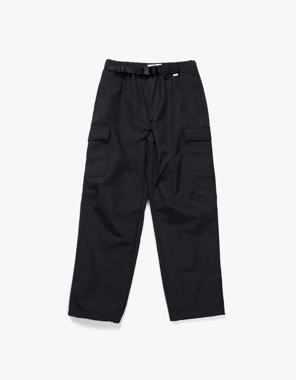 IZOLA NYC Belted Nylon Cargo Trouser - Black | HEIGHTS. | 하이츠 온라인 스토어