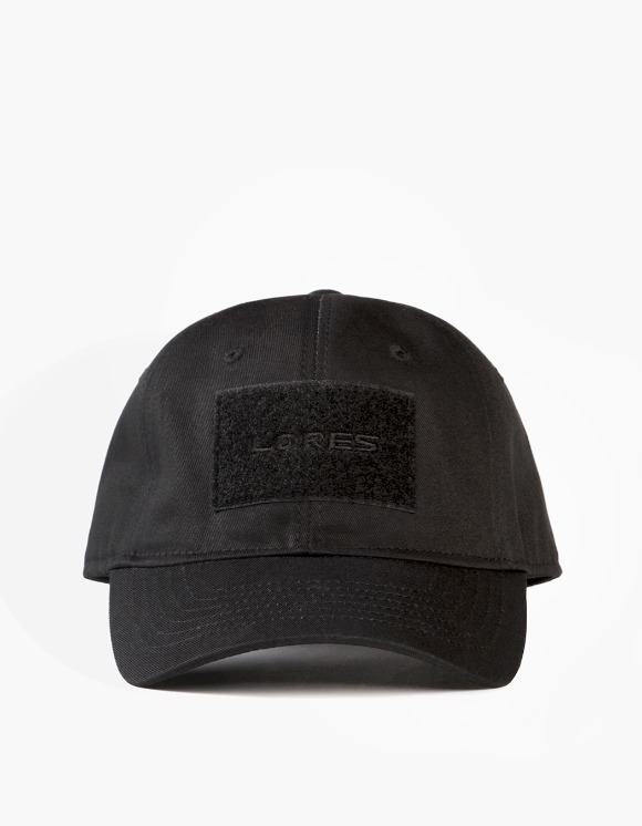 Lores 6-Panel Tactical Cap - Black | HEIGHTS. | 하이츠 온라인 스토어