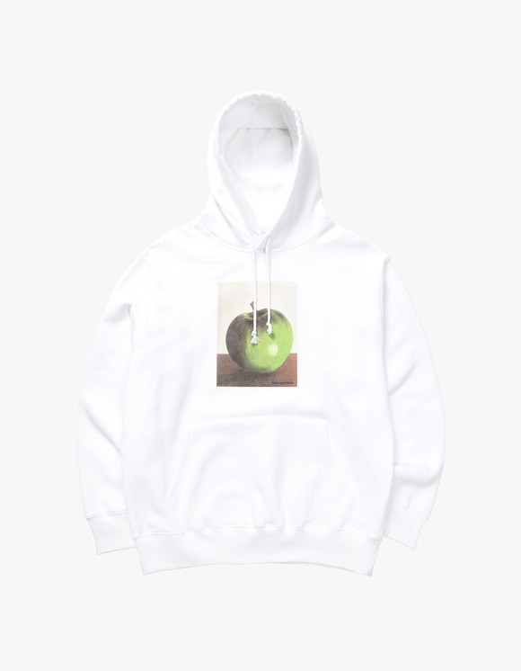 have a good time Apple Pullover Hoodie - White | HEIGHTS. | 하이츠 온라인 스토어