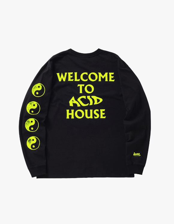 The Internatiiional ACID Ying Yang L/S - Flou Yellow | HEIGHTS. | 하이츠 온라인 스토어