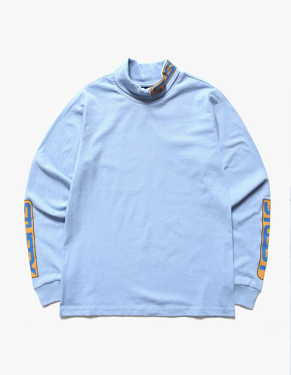 Stussy Shift LS Turtleneck - Blue | HEIGHTS. | 하이츠 온라인 스토어