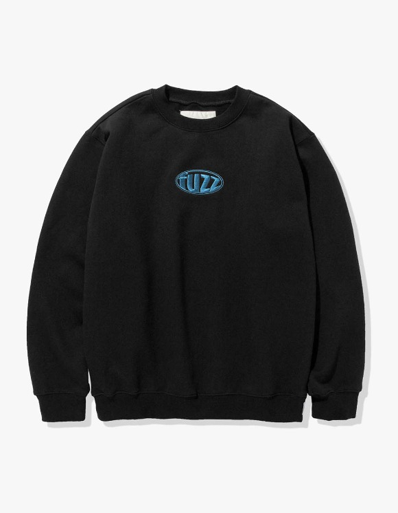 Fuzz FUZZ CIRCLE LOGO SWEATSHIRT black | HEIGHTS. | 하이츠 온라인 스토어
