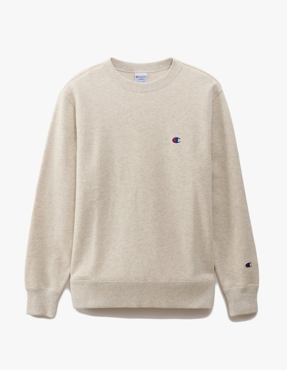 Champion Basic Crewneck Sweatshirts - Oatmeal | HEIGHTS. | 하이츠 온라인 스토어