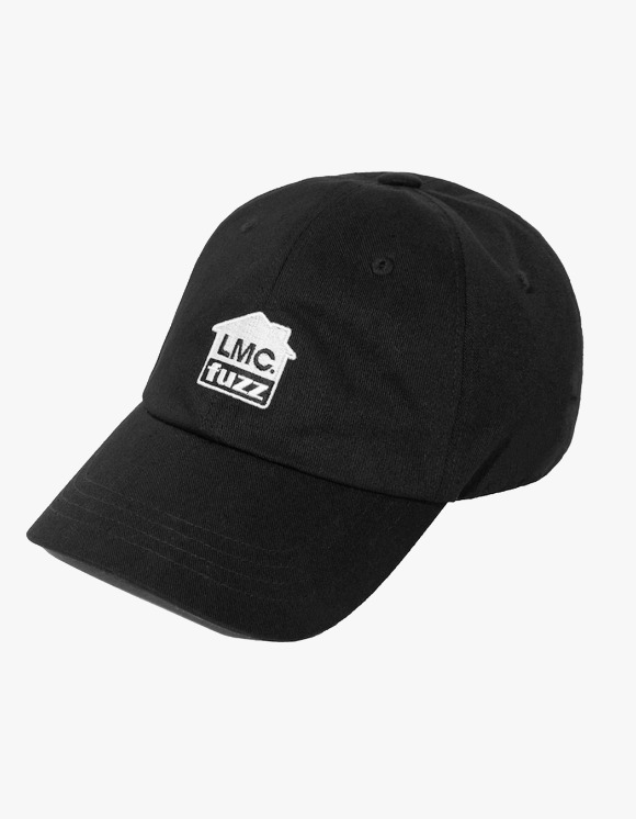 LMC LMC x FUZZ HOUSE 6 PANEL CAP black | HEIGHTS. | 하이츠 온라인 스토어