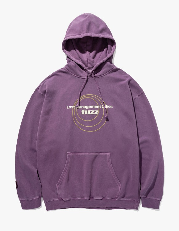 LMC LMC x FUZZ CIRCLE HOODIE purple | HEIGHTS. | 하이츠 온라인 스토어