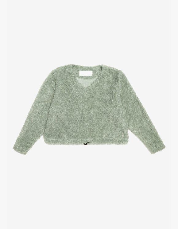 s/e/o Curly Sweater - Sage Green | HEIGHTS. | 하이츠 온라인 스토어