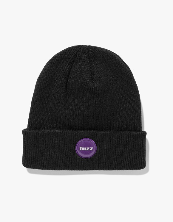 Fuzz FUZZ EPOXY LABEL BEANIE black | HEIGHTS. | 하이츠 온라인 스토어