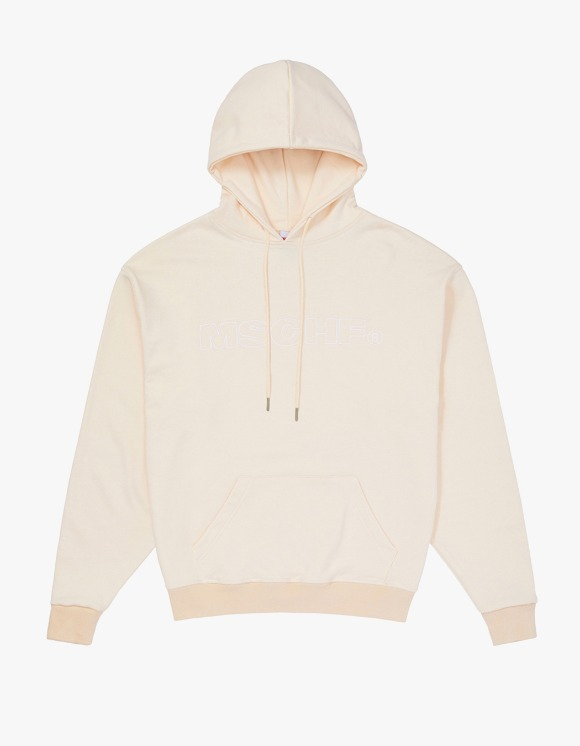 MISCHIEF  MSCHF Washed Hoodie - Cream | HEIGHTS. | 하이츠 온라인 스토어