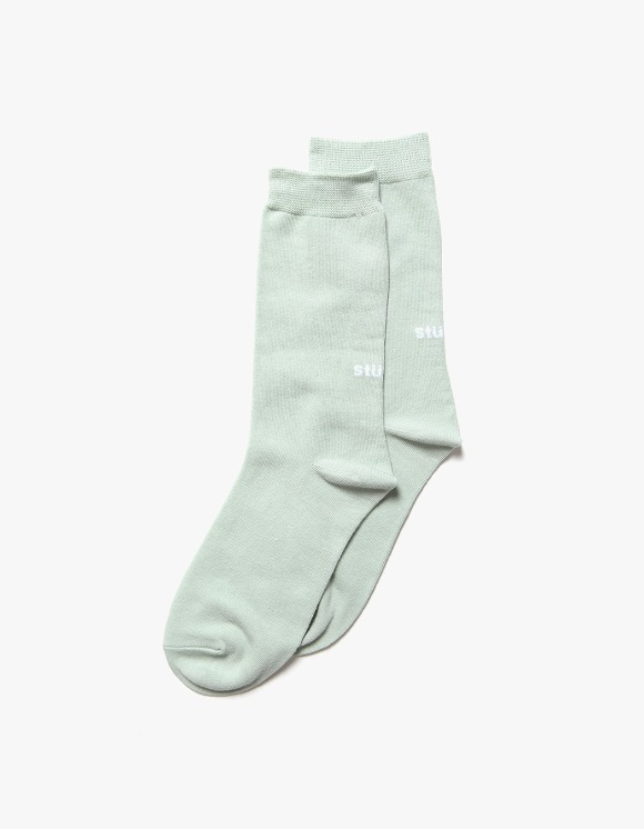 Stussy Everyday Socks - Sea Foam | HEIGHTS. | 하이츠 온라인 스토어