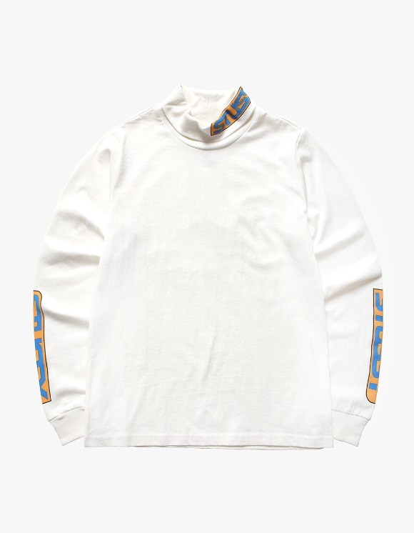 Stussy Shift LS Turtleneck - White | HEIGHTS. | 하이츠 온라인 스토어