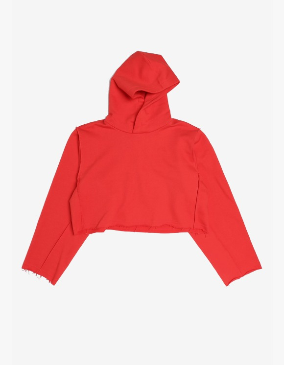 s/e/o Cropped Hoodie - Red | HEIGHTS. | 하이츠 온라인 스토어