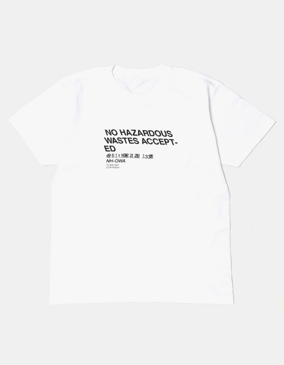 s/e/o No Waste Tee - White | HEIGHTS. | 하이츠 온라인 스토어