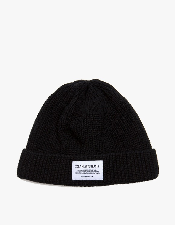 IZOLA NYC NYC Beanie - Navy | HEIGHTS. | 하이츠 온라인 스토어