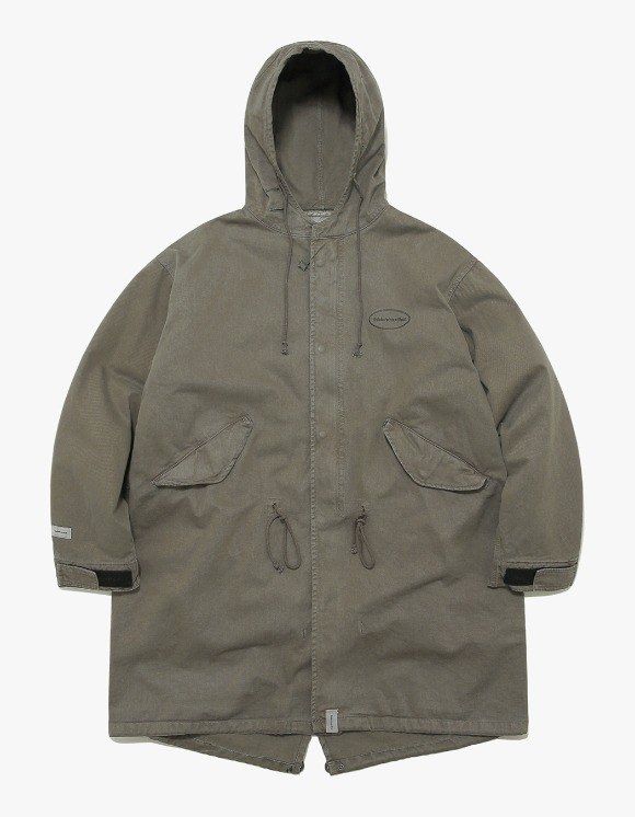 thisisneverthat Overdyed M51 Parka - Olive | HEIGHTS. | 하이츠 온라인 스토어