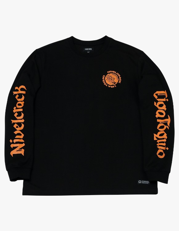 NIVELCRACK NIVELCRACK X LIGA TOQUIO Long Sleeve - Black | HEIGHTS. | 하이츠 온라인 스토어