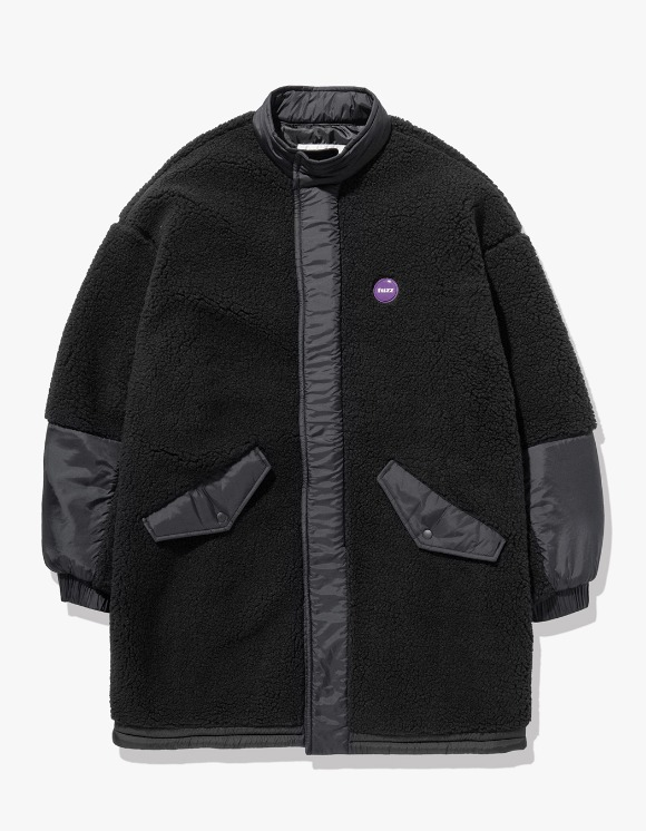 Fuzz FUZZ BOA M65 COAT light black | HEIGHTS. | 하이츠 온라인 스토어