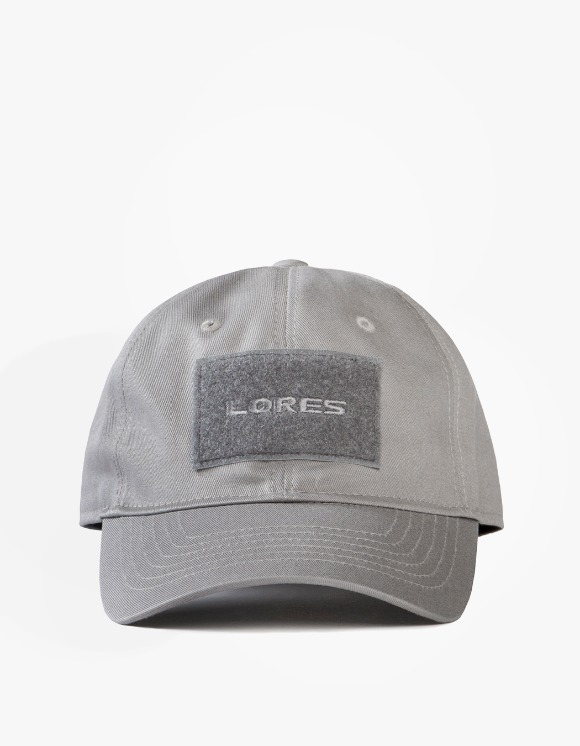 Lores 6-Panel Tactical Cap - Charcoal Grey | HEIGHTS. | 하이츠 온라인 스토어