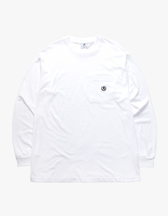 Richardson Longsleeve Pocket Tee - White | HEIGHTS. | 하이츠 온라인 스토어