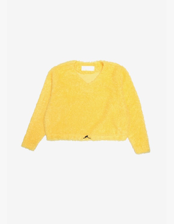 s/e/o Curly Sweater -Yellow | HEIGHTS. | 하이츠 온라인 스토어