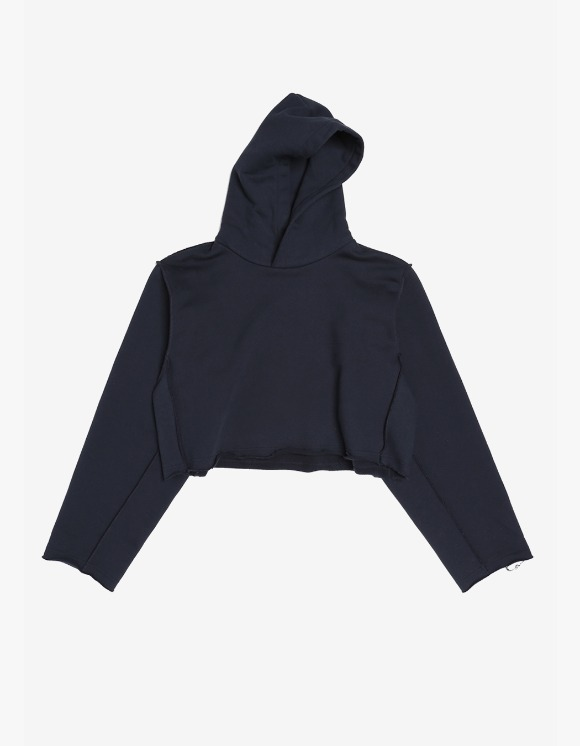 s/e/o Cropped Hoodie - Navy | HEIGHTS. | 하이츠 온라인 스토어