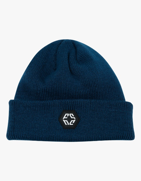 NIVELCRACK Logo Beanie - Navy | HEIGHTS. | 하이츠 온라인 스토어