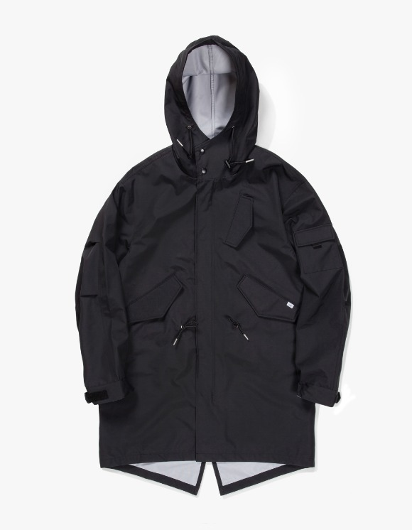 IZOLA NYC 3 Layer Mods Coat - Black | HEIGHTS. | 하이츠 온라인 스토어