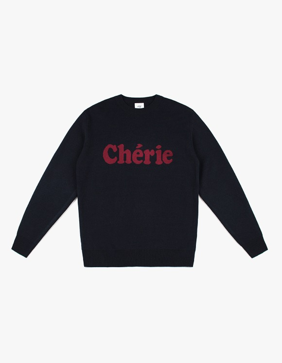 CLIF Cherie Wool Knit - Black | HEIGHTS. | 하이츠 온라인 스토어