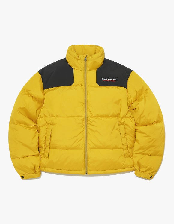 thisisneverthat SP-INTL. Sport Down Jacket - Yellow | HEIGHTS. | 하이츠 온라인 스토어