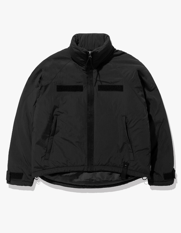 Fuzz FUZZ LEVEL7 SHORT PARKA black | HEIGHTS. | 하이츠 온라인 스토어