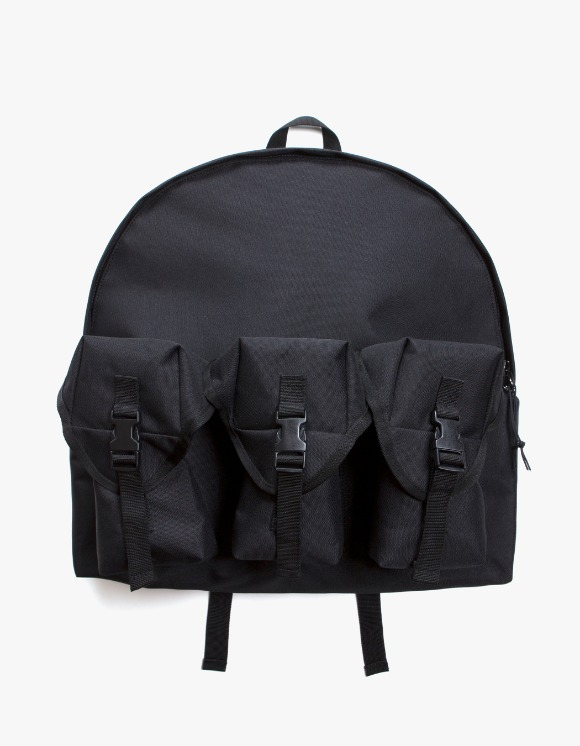 Lores 3 Pocket Backpack - Black | HEIGHTS. | 하이츠 온라인 스토어