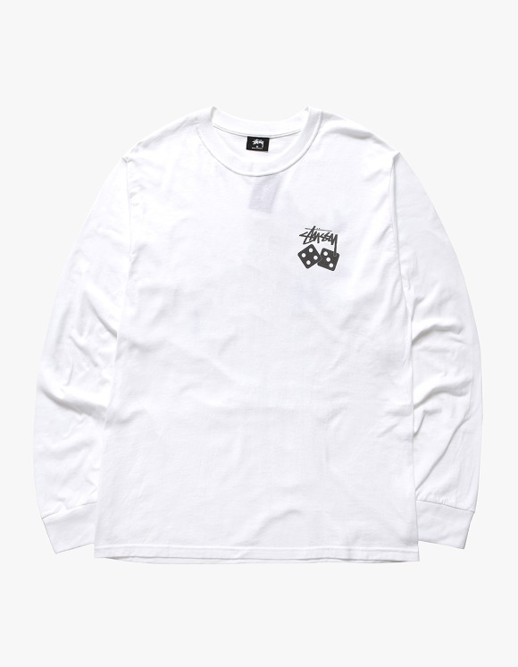 Stussy Dice Pig.Dyed LS Tee - Natural | HEIGHTS. | 하이츠 온라인 스토어