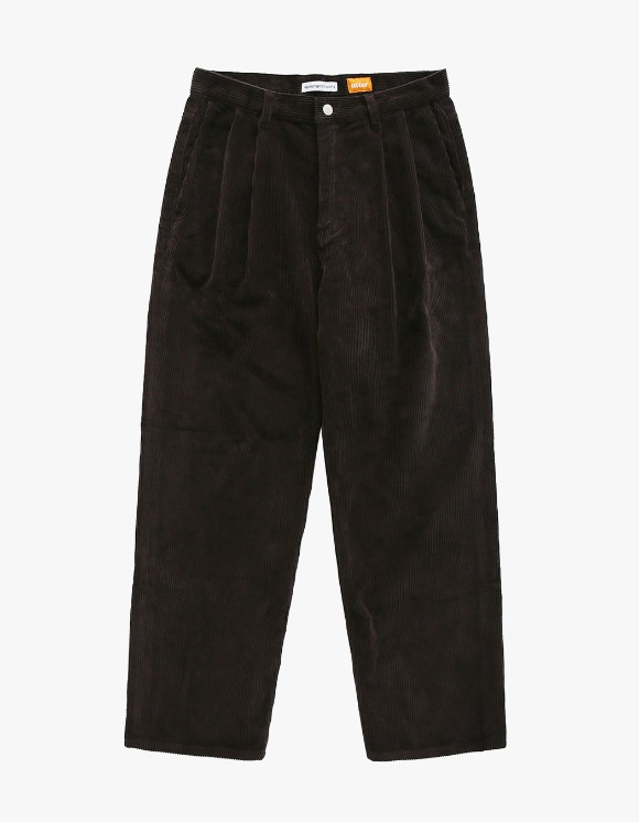 AYC Corduroy 2 Tuck Wide Pants Brown | HEIGHTS. | 하이츠 온라인 스토어